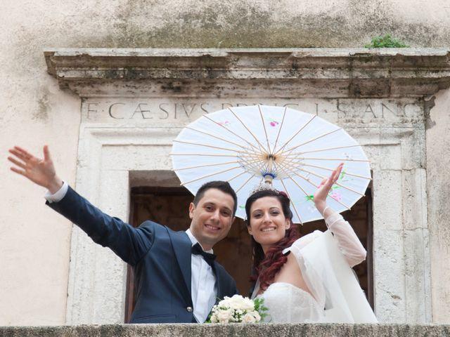 Il matrimonio di Mauro e Francesca a Sant'Angelo Romano, Roma 21