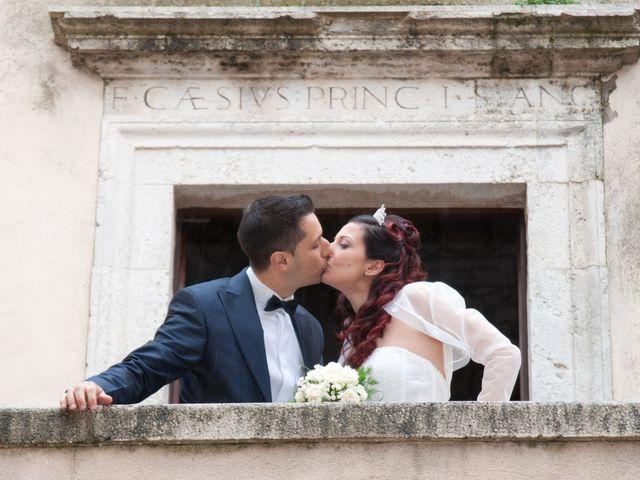Il matrimonio di Mauro e Francesca a Sant'Angelo Romano, Roma 22