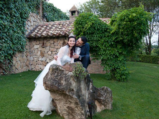 Il matrimonio di Mauro e Francesca a Sant'Angelo Romano, Roma 25