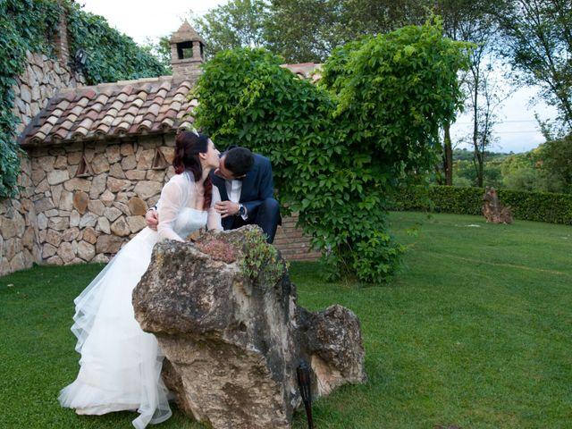 Il matrimonio di Mauro e Francesca a Sant'Angelo Romano, Roma 26