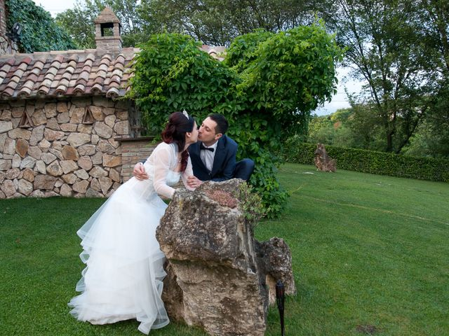 Il matrimonio di Mauro e Francesca a Sant'Angelo Romano, Roma 27