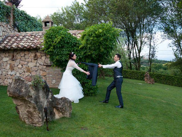 Il matrimonio di Mauro e Francesca a Sant'Angelo Romano, Roma 29