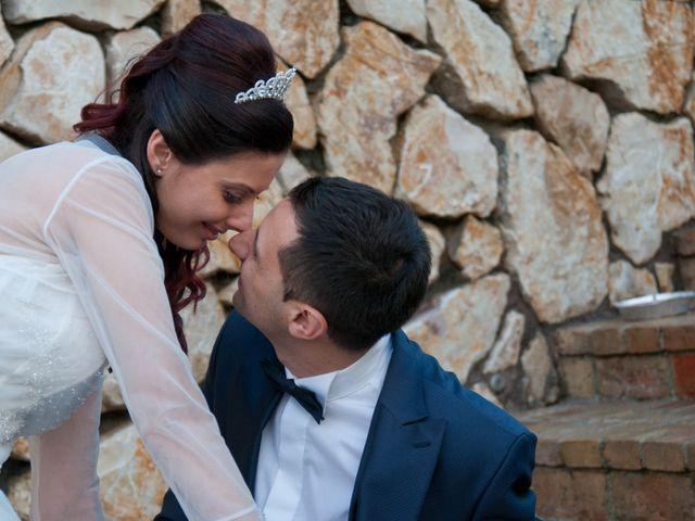 Il matrimonio di Mauro e Francesca a Sant'Angelo Romano, Roma 31