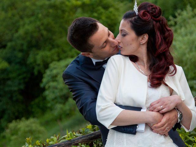Il matrimonio di Mauro e Francesca a Sant'Angelo Romano, Roma 35