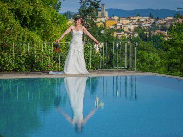 Il matrimonio di Davide e Silvia a Castelnuovo di Garfagnana, Lucca 45