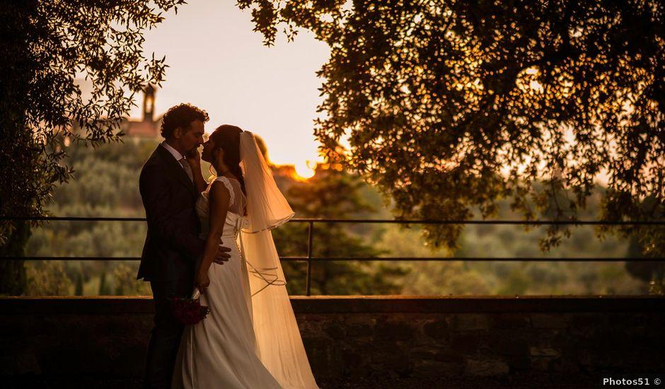 Il matrimonio di Emanuele e Veronica a Greve in Chianti, Firenze