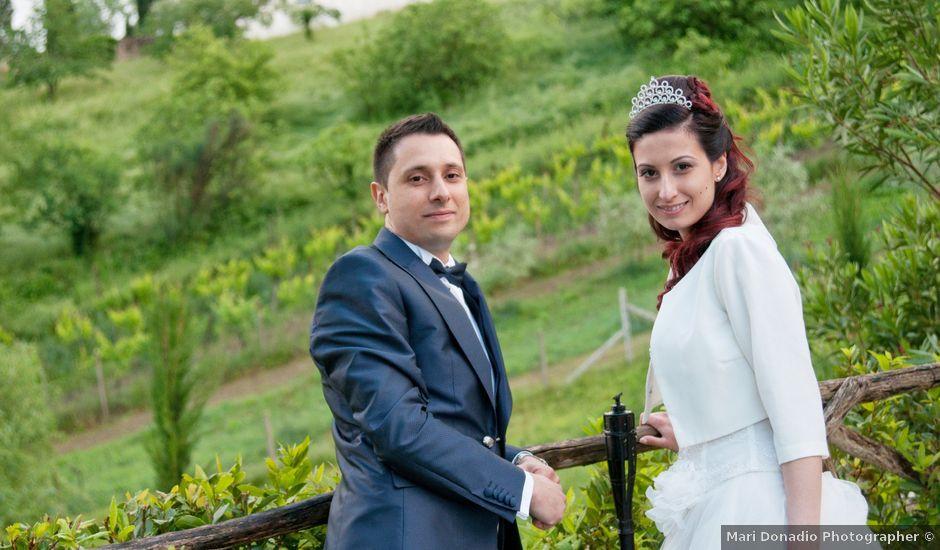 Il matrimonio di Mauro e Francesca a Sant'Angelo Romano, Roma