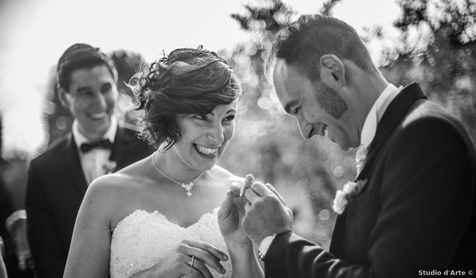 Il matrimonio di Davide e Silvia a Castelnuovo di Garfagnana, Lucca
