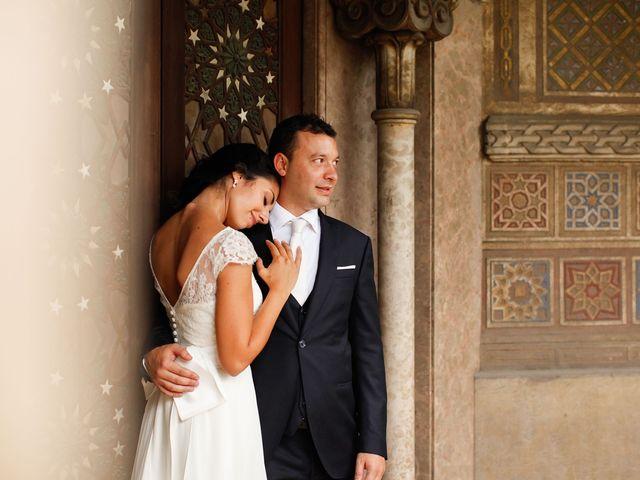 le nozze di Melanie e Paolo
