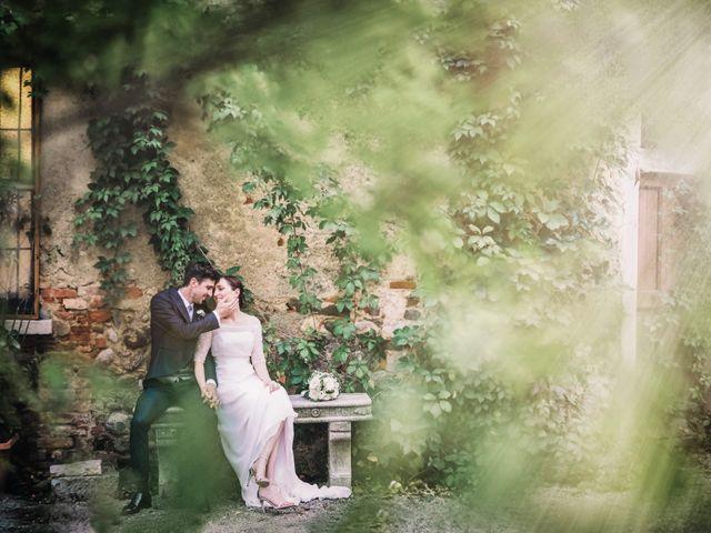 le nozze di Alessandra e Nicola