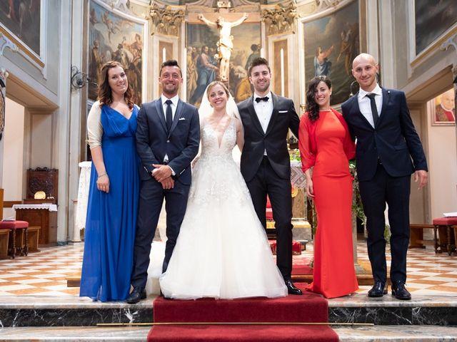 Il matrimonio di Andrea e Alessandra a Bolgare, Bergamo 178