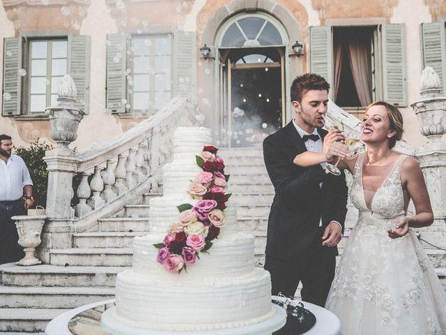 Il matrimonio di Andrea e Alessandra a Bolgare, Bergamo 346