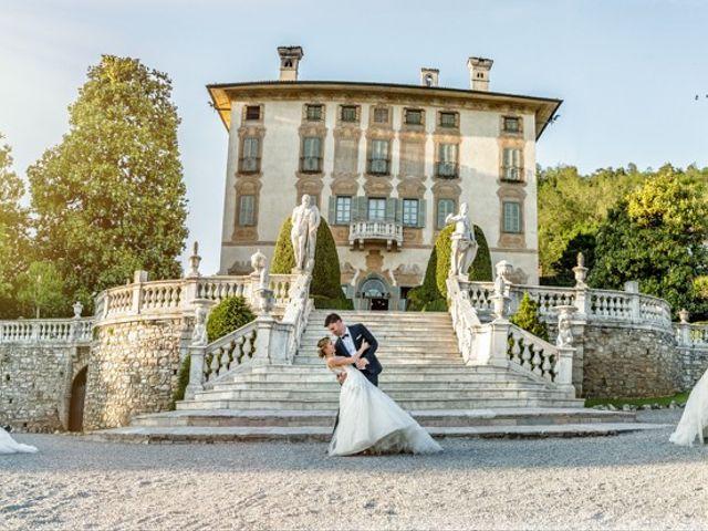 Il matrimonio di Andrea e Alessandra a Bolgare, Bergamo 380