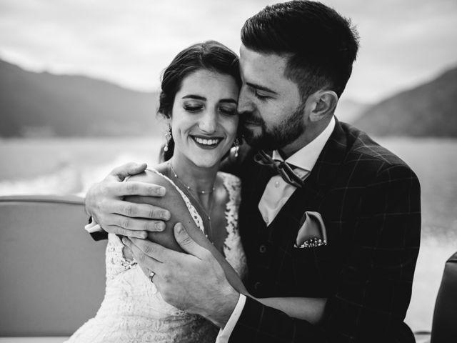 Il matrimonio di Bekim e Daiana a Cannobio, Verbania 36