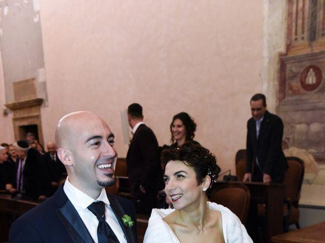 Il matrimonio di Giulio e Lavinia a Narni, Terni 16