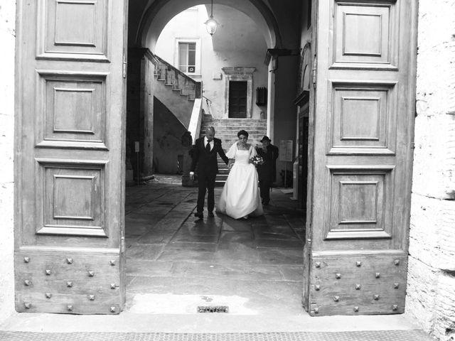 Il matrimonio di Giulio e Lavinia a Narni, Terni 20