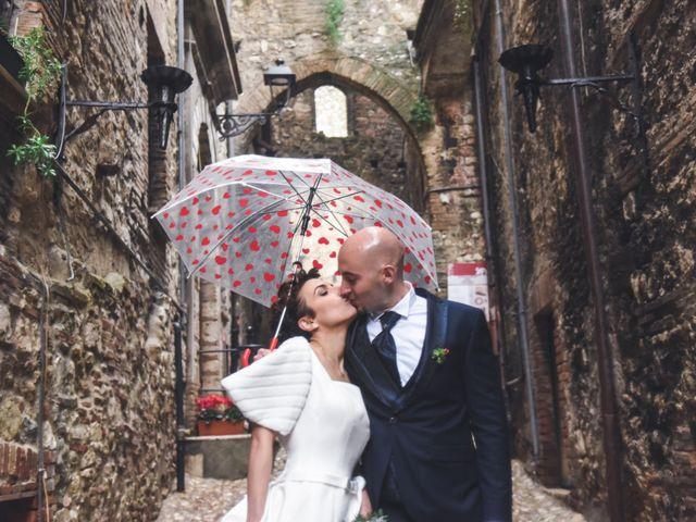 Il matrimonio di Giulio e Lavinia a Narni, Terni 25
