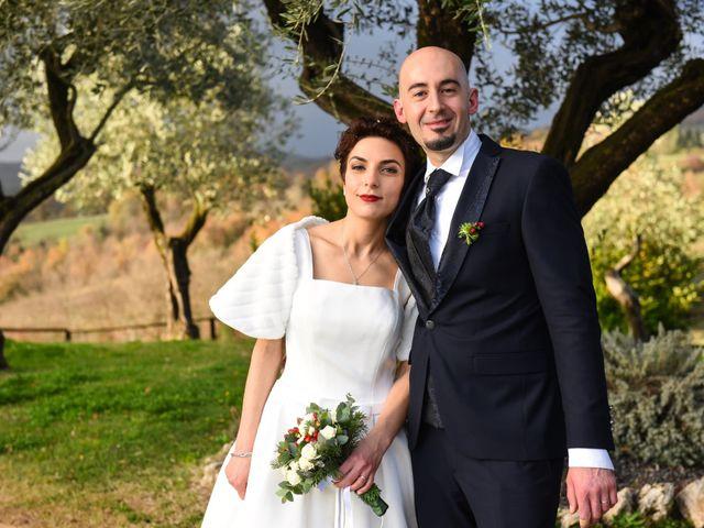 Il matrimonio di Giulio e Lavinia a Narni, Terni 32