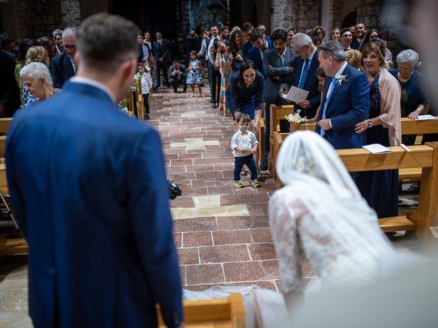 Il matrimonio di Claudio e Elisa a Greccio, Rieti 36