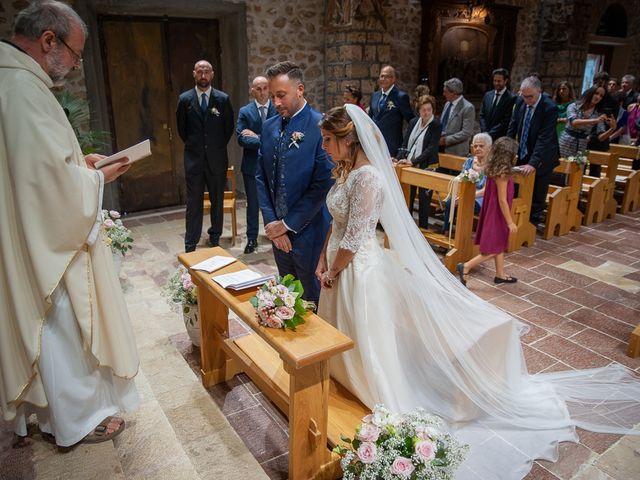 Il matrimonio di Claudio e Elisa a Greccio, Rieti 40
