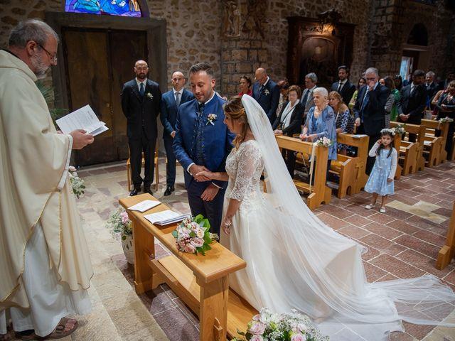 Il matrimonio di Claudio e Elisa a Greccio, Rieti 41