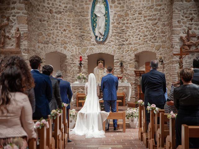 Il matrimonio di Claudio e Elisa a Greccio, Rieti 42