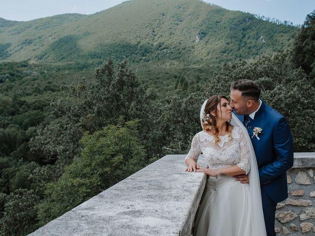 Il matrimonio di Claudio e Elisa a Greccio, Rieti 1