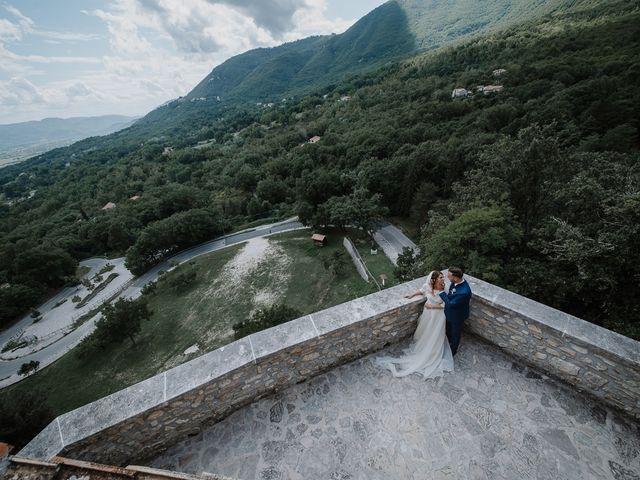 Il matrimonio di Claudio e Elisa a Greccio, Rieti 46