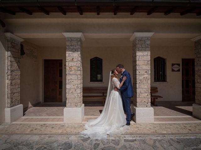 Il matrimonio di Claudio e Elisa a Greccio, Rieti 47