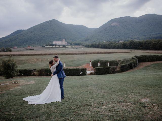 Il matrimonio di Claudio e Elisa a Greccio, Rieti 51