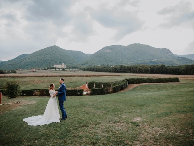 Il matrimonio di Claudio e Elisa a Greccio, Rieti 55