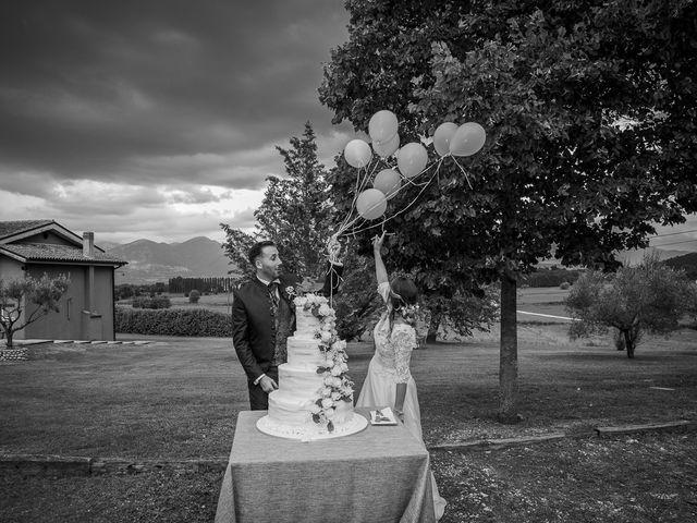 Il matrimonio di Claudio e Elisa a Greccio, Rieti 78