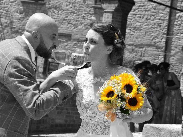 Il matrimonio di Laura e Manuel a Castell'Arquato, Piacenza 11