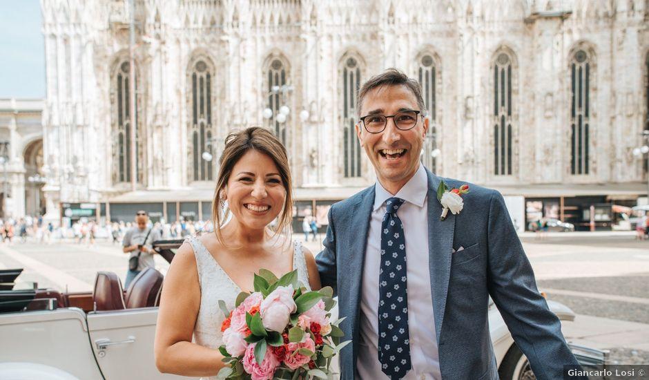 Il matrimonio di Massimo e Paloma a Milano, Milano