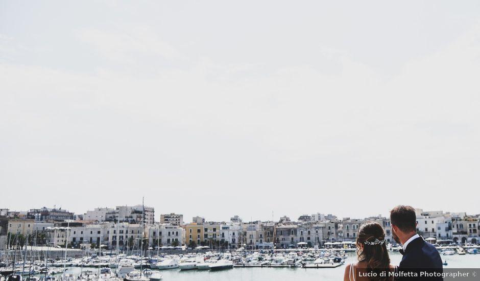 Il matrimonio di Leonardo e Claudia a Trani, Bari