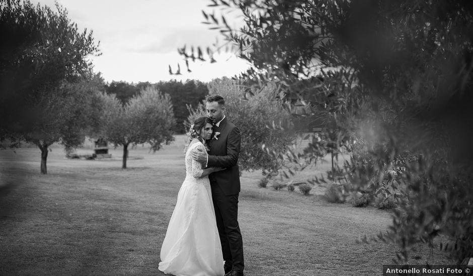 Il matrimonio di Claudio e Elisa a Greccio, Rieti