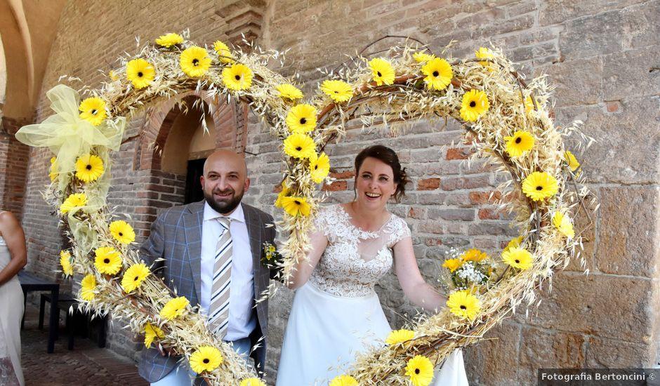 Il matrimonio di Laura e Manuel a Castell'Arquato, Piacenza