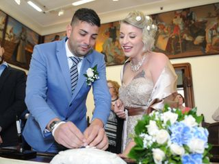 Le nozze di Gloria e Marino