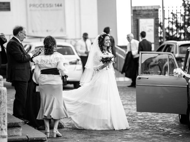 Il matrimonio di Fabrizio e Irene a Roma, Roma 1