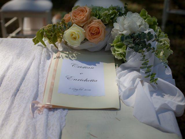 Il matrimonio di Enrichetta e Cristian a Collesalvetti, Livorno 1