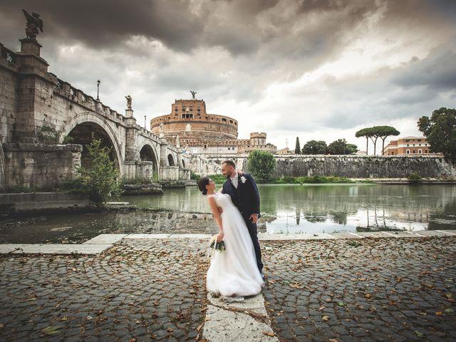 Il matrimonio di Manuel e Teresa a Roma, Roma 1
