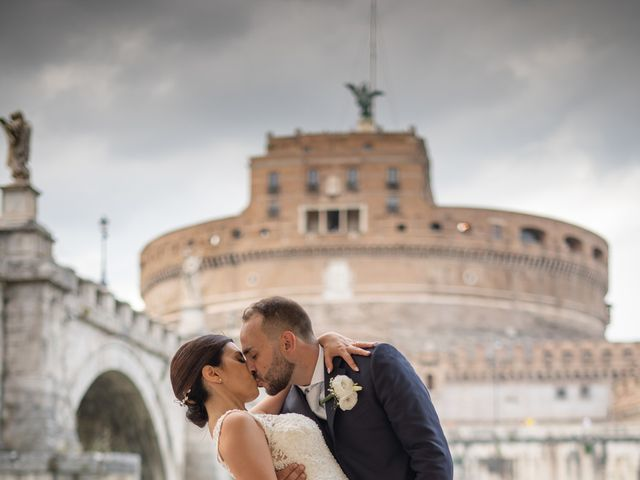 Il matrimonio di Manuel e Teresa a Roma, Roma 57