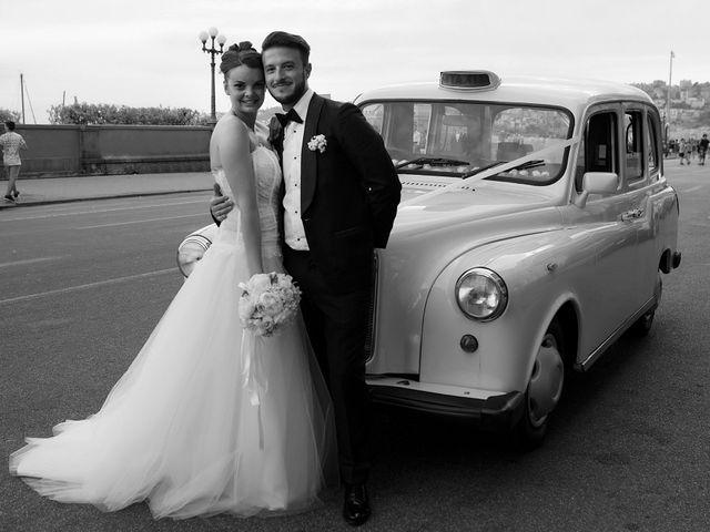 le nozze di Antonella e Pierpaolo