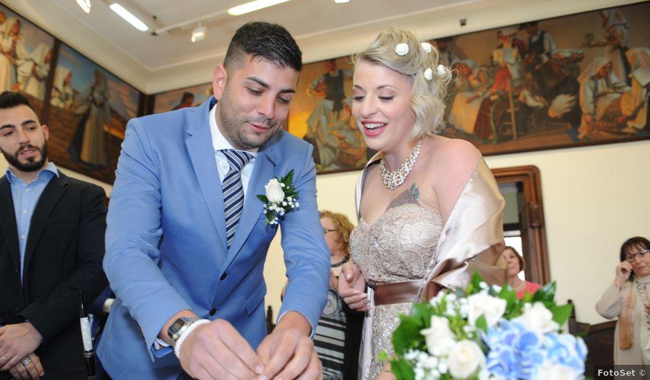 Il matrimonio di Marino e Gloria a Cagliari, Cagliari