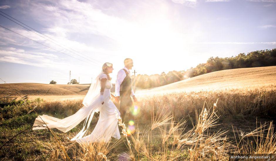 Il matrimonio di Vanessa e Maxence a Siena, Siena