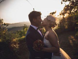 Le nozze di Alessandra e Joel