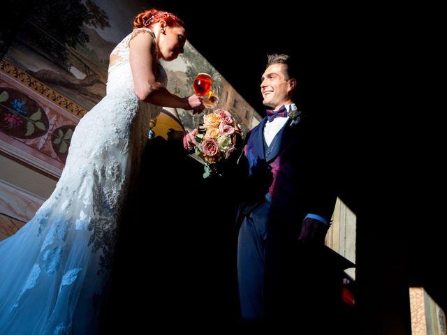 le nozze di Serena e Alessandro