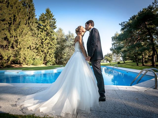le nozze di Giulia e Larry