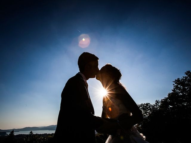 Il matrimonio di Larry e Giulia a Besozzo, Varese 13