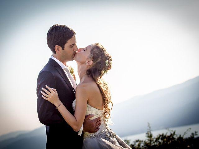 Il matrimonio di Larry e Giulia a Besozzo, Varese 14